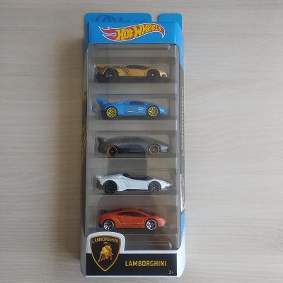 Hot Wheels - 5 pack Lamborghini