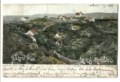 Levý Hradec, Roztoky u Prahy, Praha západ