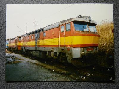 Lokomotiva 751.032, České Budějovice 1997