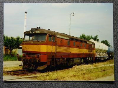Lokomotiva 751.136, České Budějovice