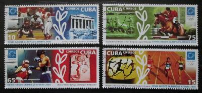 Kuba 2004 LOH Atény Mi# 4574-77 0603