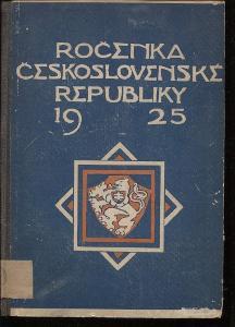 Ročenka Československé republiky 1925