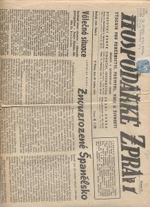Hospodářské zprávy, číslo 5/1945