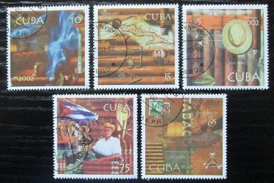 Kuba 2002 Doutníky Mi# 4407-11 Kat 4.60€ 0603