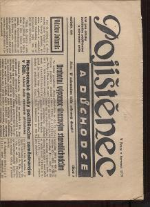 Pojištěnec a důchodce, ročník XVI., číslo 7/1939