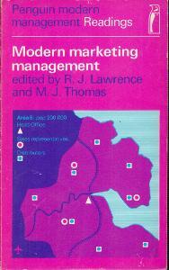 Modern marketing management