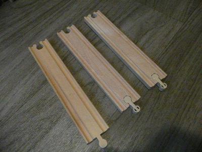 vláčkodráha - koleje rovné dlouhé 3ks