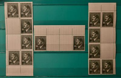 Protektorát Č. a M - Hitler 10k - podkovy