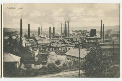 Kladno, továrna