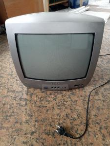 barevná televize mini