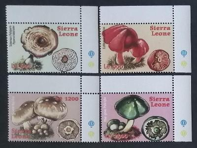 Sierra Leone 2000 Mi.3707-0 9€ Africké houby a mykologie, flora