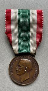 VYZNAMENÁNÍ-VIKTOR EMANUEL-1918-ITALIE