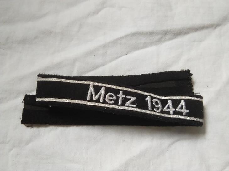 Pasku na ruku Metz 1944 III Rise - Vojenské