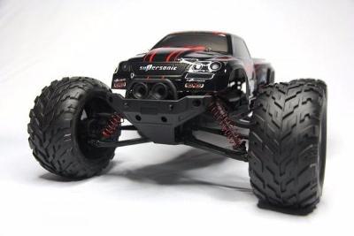 Monster 1/12, 2WD, 38km/h, 2,4Ghz - červený
