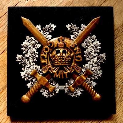 """1914 I.Světová Válka Rakousko-Uhersko Velká Plaketa """"Gott mit Uns"""""""