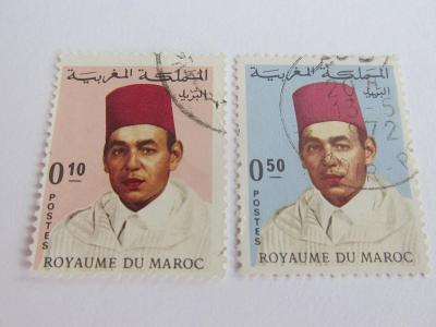 Prodávám známky Maroko 1968, Král Hassan II.