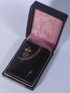 Modlitební knížka Rajské kvítky, nakladatel Steinbrener Vimperk 1887