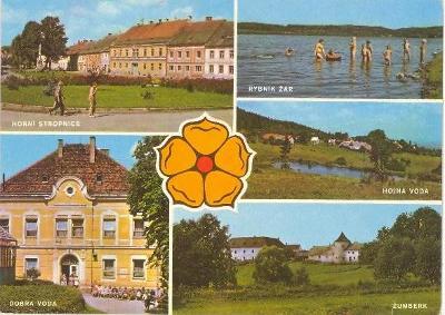Horní Stropnice, rybník Žár, Hojná Voda, Dobrá Voda, Žumberk