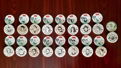 Turistické známky Kofola 2020 + Kofola 2021