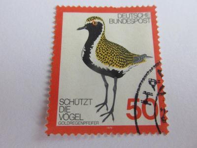 Prodávám známky Německo 1976, Ochrana životního prostředí - Ptáci
