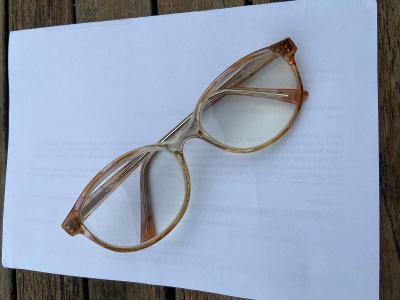 Vintage retro brýle 1 ks