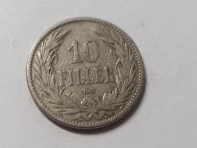Rakousko-Uhersko FJI - 10 fillér - 1894 KB