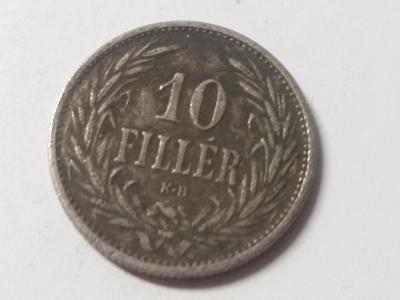 Rakousko-Uhersko FJI - 10 fillér - 1908 KB