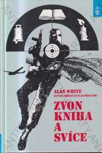Zvon, kniha a svíce Alan white 1997 Armex, Trivis