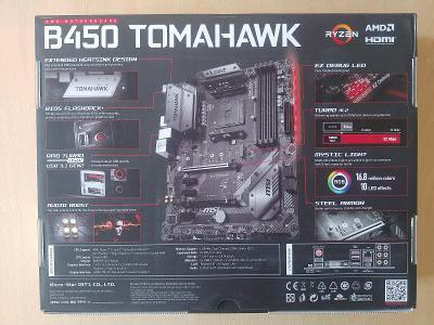 MSI B450 Tomahawk od 1kč!!!