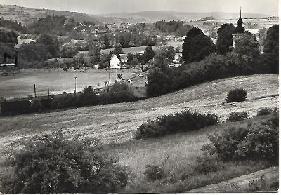 .Stříbrná Skalice, celkový, Orbis, 1967, o. Kolín