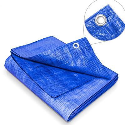 Zakrývací plachta 4 x 5 m - 60 g modrá (29191)
