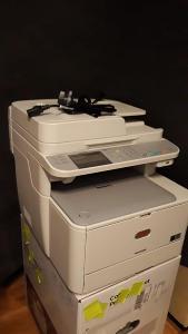 Barevná laserová multifunkční tiskárna OKI MC332dn + sada tonerů