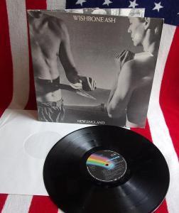 🔥 LP: WISHBONE ASH - NEW ENGLAND, deska MINT! 1vyd West Germany 1976