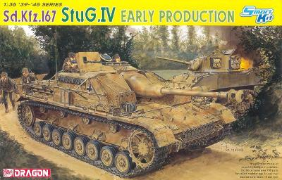 RARE DRAGON 1/35 StuG IV Early Production - ještě v orginal folii
