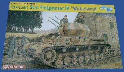RARE DRAGON 1/35 Sd. Kfz.161/4 2cm Flakpanzer IV Wirbelwind