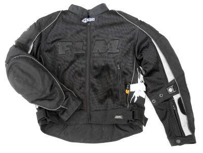 Textilní letní bunda FLM - vel. S/46-48