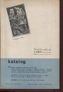 60. aukce uměleckých předmětů, obrazů a knih. Umělec