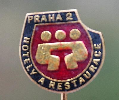 Odznak / Hotely a Restaurace Praha 2  (o1/1)