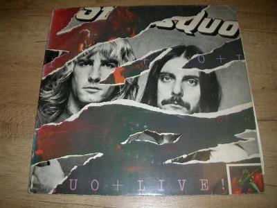 Status Quo – Live (1977) 2xLP , 1.Press   ,EX