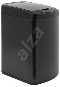 Odpadkový koš iQ-Tech Quadrat 15 l, černý
