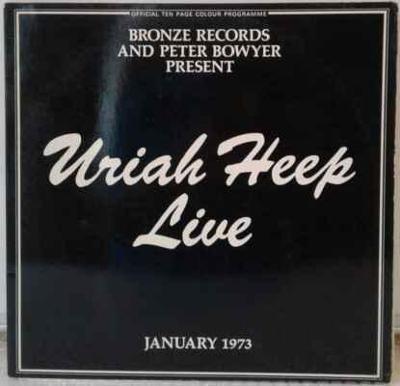 2LP Uriah Heep - Uriah Heep Live, 1973  EX
