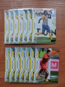 SFC OPAVA - Lot 14 karet, fotbalové karty SportZOO. 2020/2021.