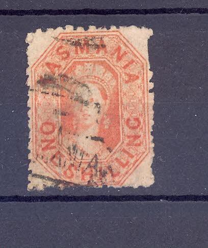 Anglické kolonie, Austrálie, Tasmanie 6 - Filatelie