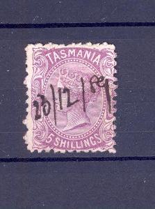 Anglické kolonie, Austrálie, Tasmanie, 5 shillings, 7