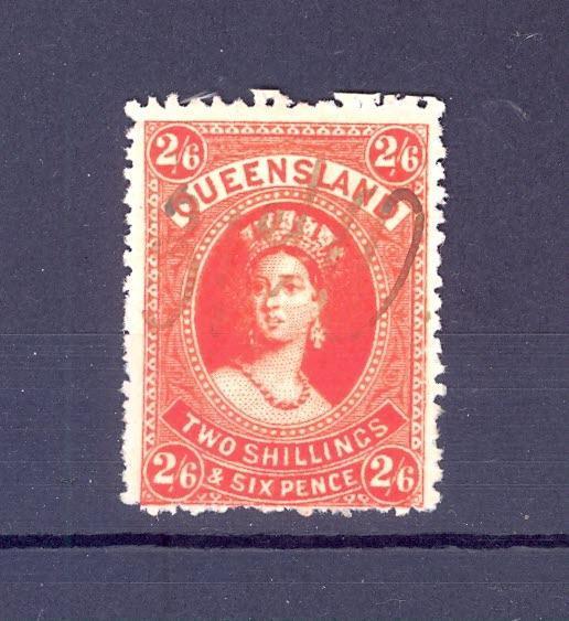 Anglické kolonie, Austrálie, Queensland, 1 - Filatelie