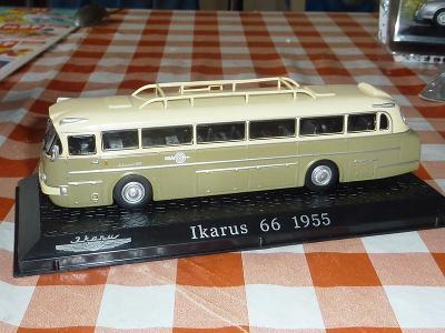 50 léta IKARUS ... Autobus .. pěkný model .. výrobce ATLAS