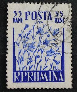 Rumunsko 55 bani   / Známky (1a)