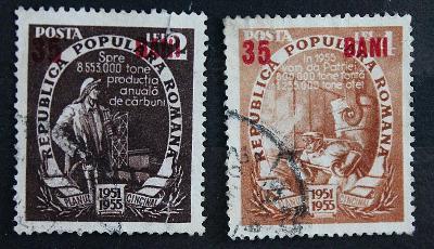 Rumunsko 35 bani   / Známky (1a)