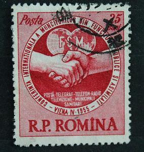 Rumunsko 25 bani   / Známky (1a)