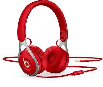Nefunkční a pouze pro podnikatele: Sluchátka Beats EP - červená